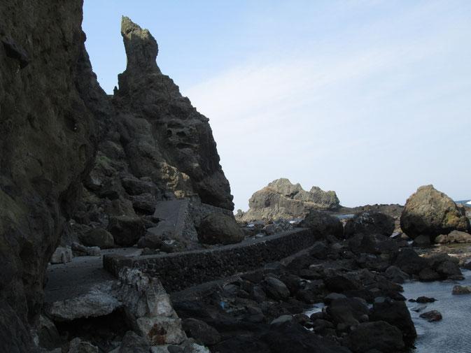 ここが本州の終点です 龍飛岬