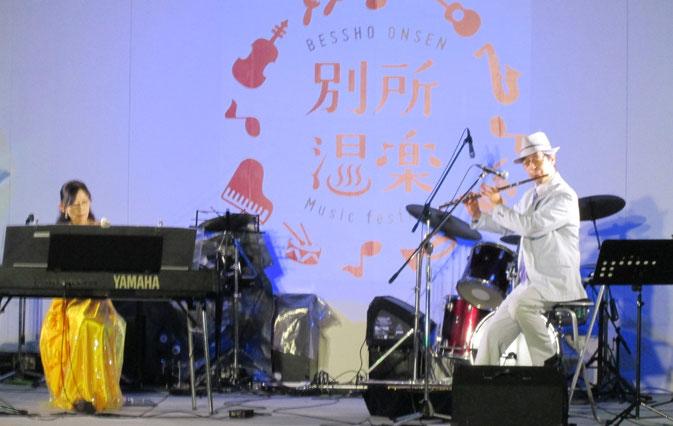 別所温楽は午前10時からスタート。Takno&Miyukiは夜7時からでした。