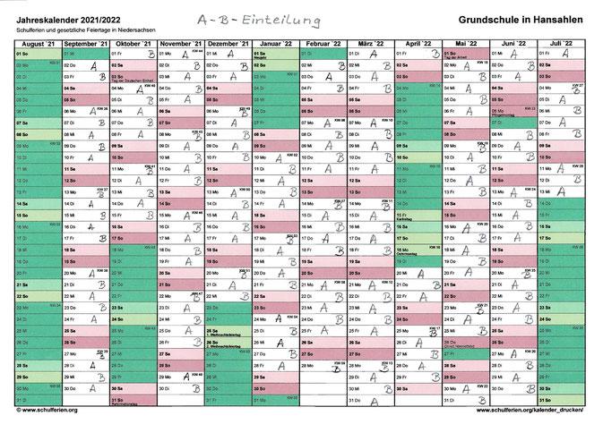 2021-08-25_A-B-Einteilung Schuljahr 2021-2022