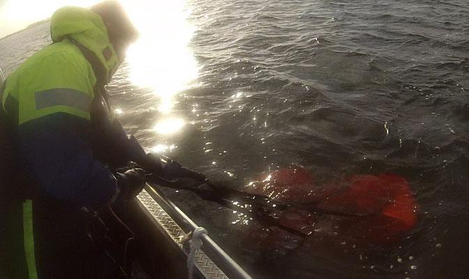 Beliebter Winterjob: Driftsackdienst