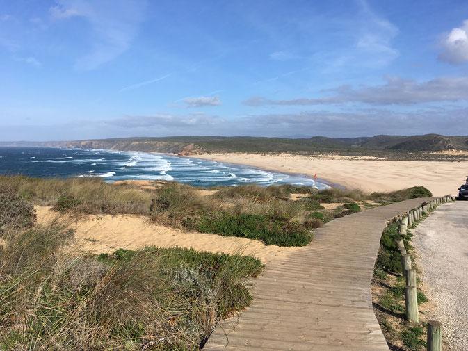 Praia da Bordeira, Atlantikküste Südportugal
