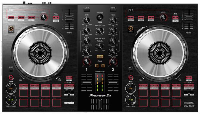 Pioneer DDJ SB3 DJ-Controller für Anfänger und Fortgeschrittene