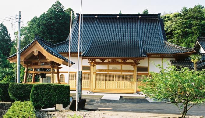 善行寺本堂(平成16年 七尾市 般若野町)