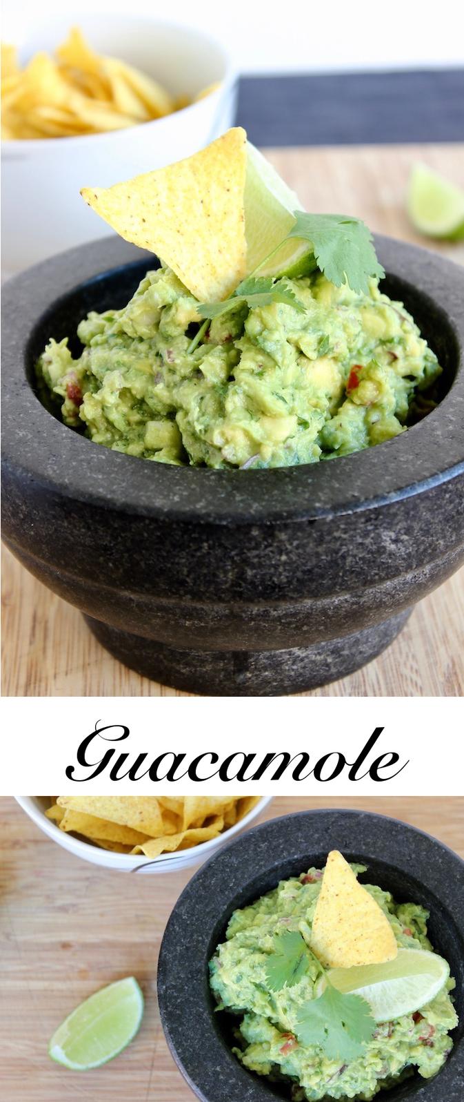 Leckere Guacamole zum Grillen oder einfach als Dip zu Nachos!