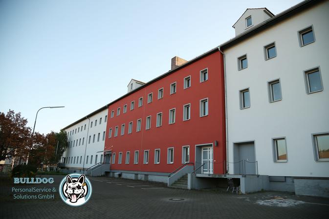 Objektschutz von Bulldog PersonalService & Solutions GmbH auf einer Baustelle in Würzburg