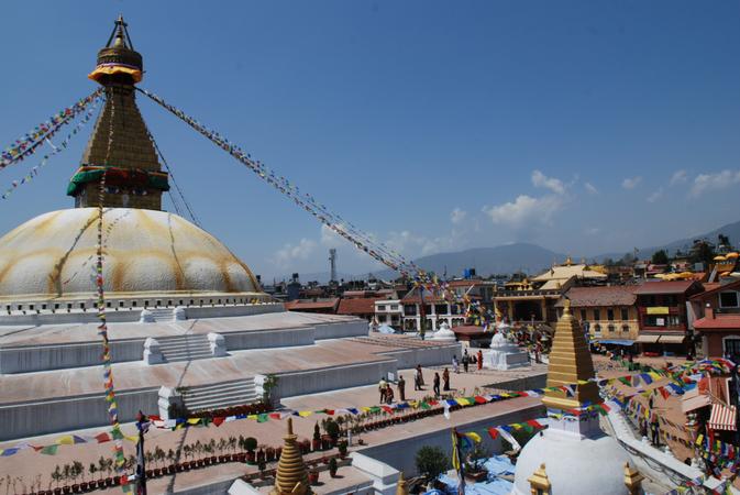 Bodnath Stupa / Kathmandu