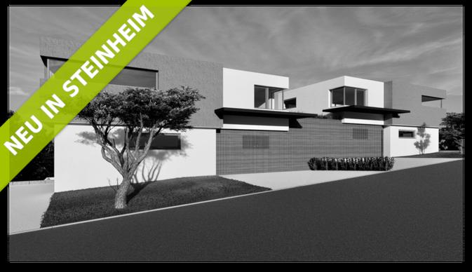 Animation eines exklusiven Wohnhauses im Cube-Stil