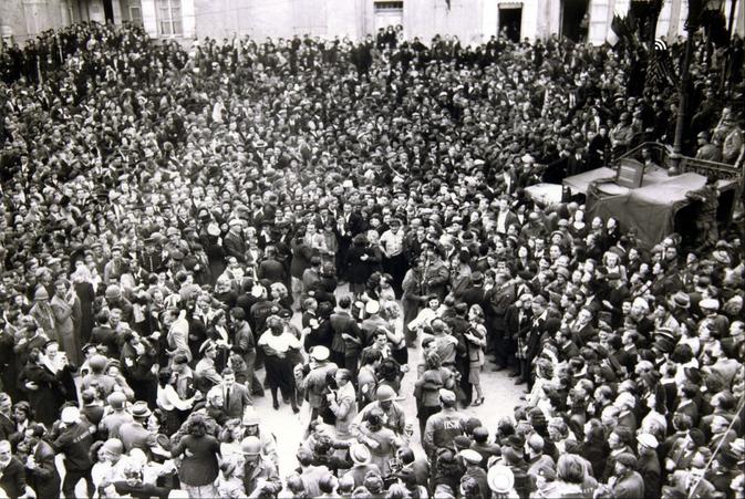 Grand bal du 14 juillet 1944 à Cherbourg
