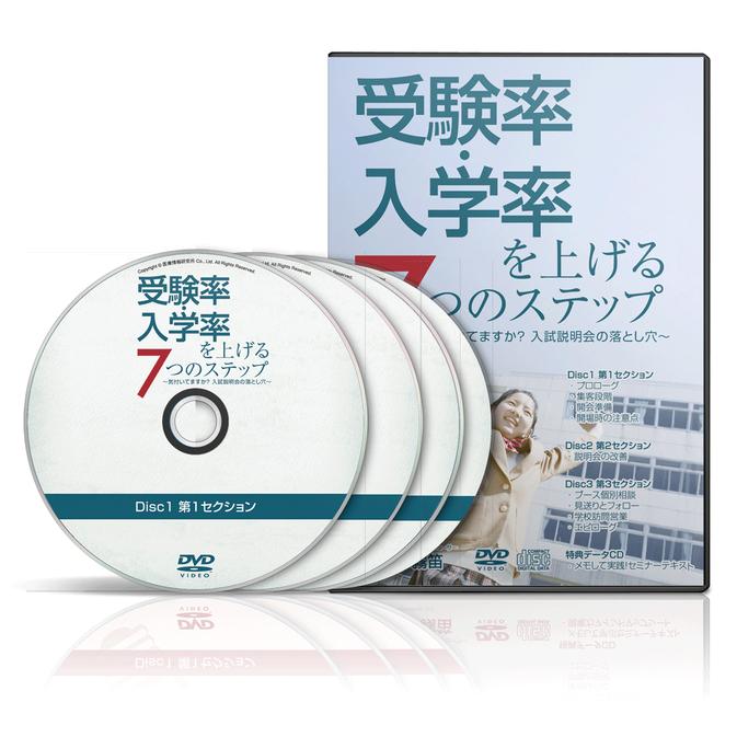 『受験率・入学率を上げる7つのステップ』(株式会社医療情報研究所)
