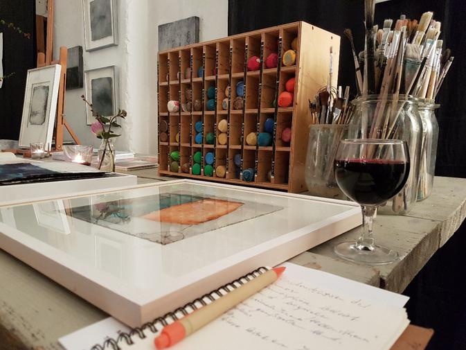 Kunstsalon im Atelier Bettina Hachmann