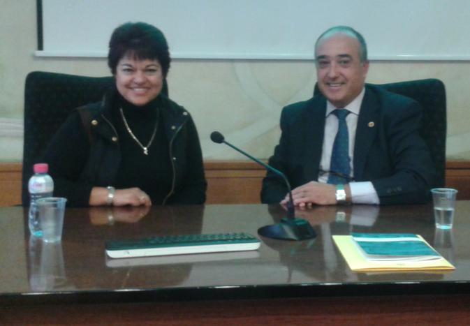 Dra. Lucila Cárdenas y Dr. Jesús López, Coordinadores de las Regiones México y Europa.