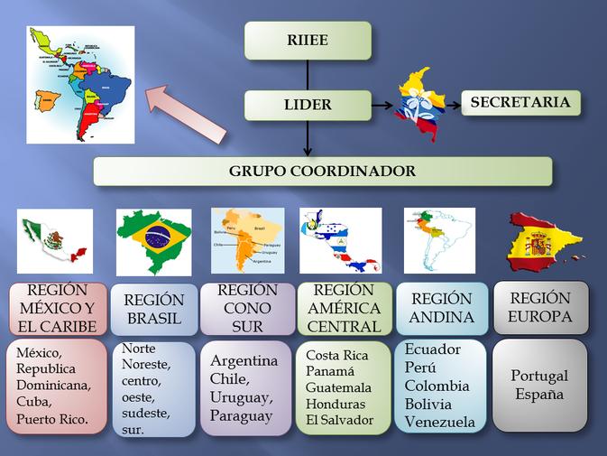 Estructura Organizacional de RIIEE