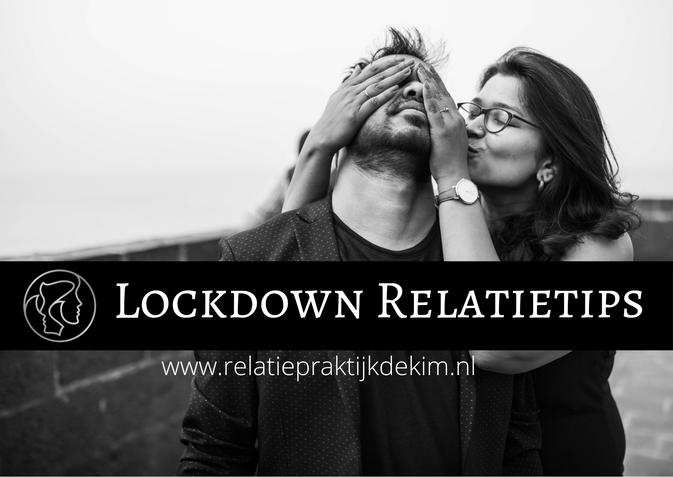 Lockdwon Relatietips Corona in je relatie