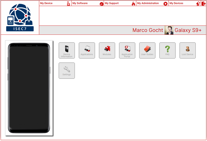 User-Self-Service for Enterprise Mobility - Enterprise