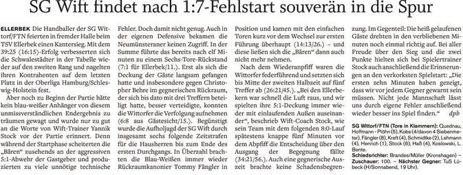 10. Spieltag 2015/2016