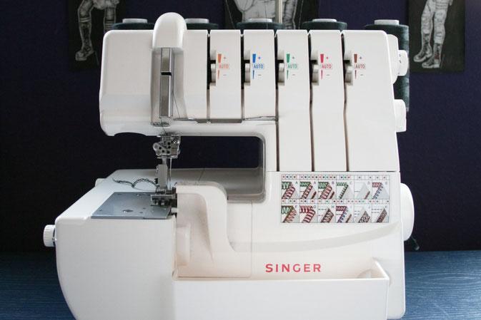 singer quantumlock 967 14t967dc 5 faden overlock. Black Bedroom Furniture Sets. Home Design Ideas