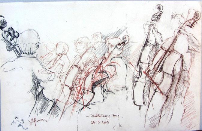 pastel : orchestre à cordes épinal