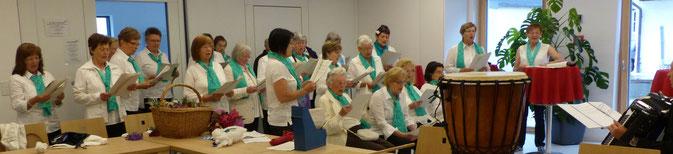 Der GENiAL-Chor wird am 1. September auf dem Neumarkter Wochenmarkt für gute Laune sorgen, Foto: GENiAL