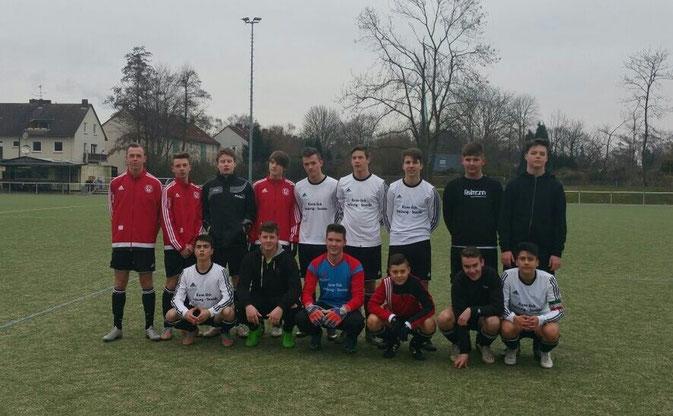 Auswärtsspiel gegen BV Herne Süd II