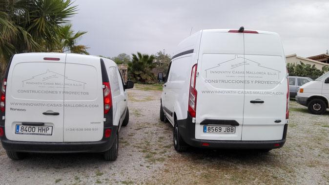 Baufirma Mallorca, Hausbau Mallorca, Trockenbau Mallorca