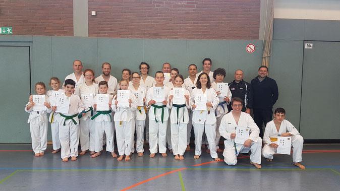 Taekwondo Hamm Prüfung Gürtelprüfung Training Selbstverteidigung Kampfkunst Kampfsport Verein Abteilung TKD HSC HSC08 Hammer SportClub 2008 e. V.