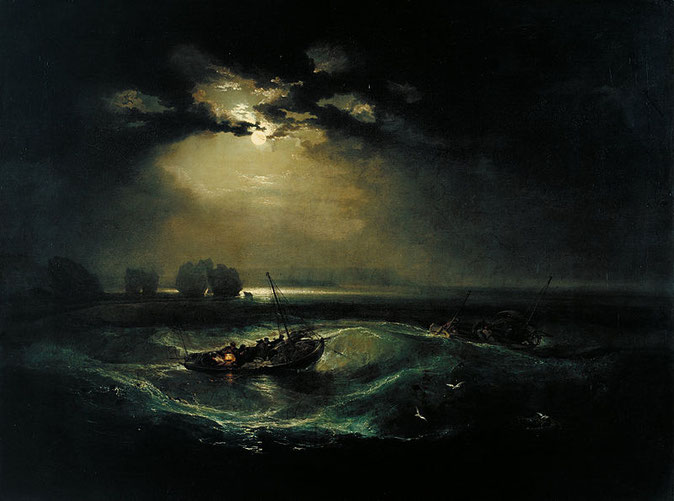 《海の釣り人》1796年