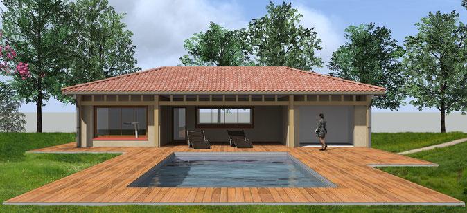 Permis Pool house