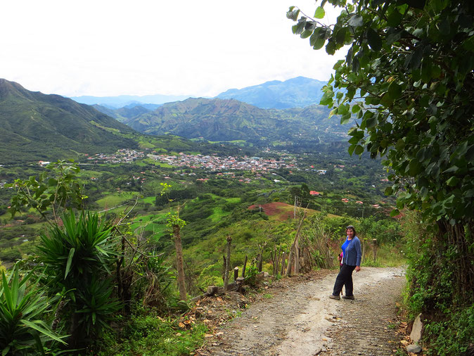 Rund um Vilcabamba kann man diverse schöne Wanderungen unternehmen.