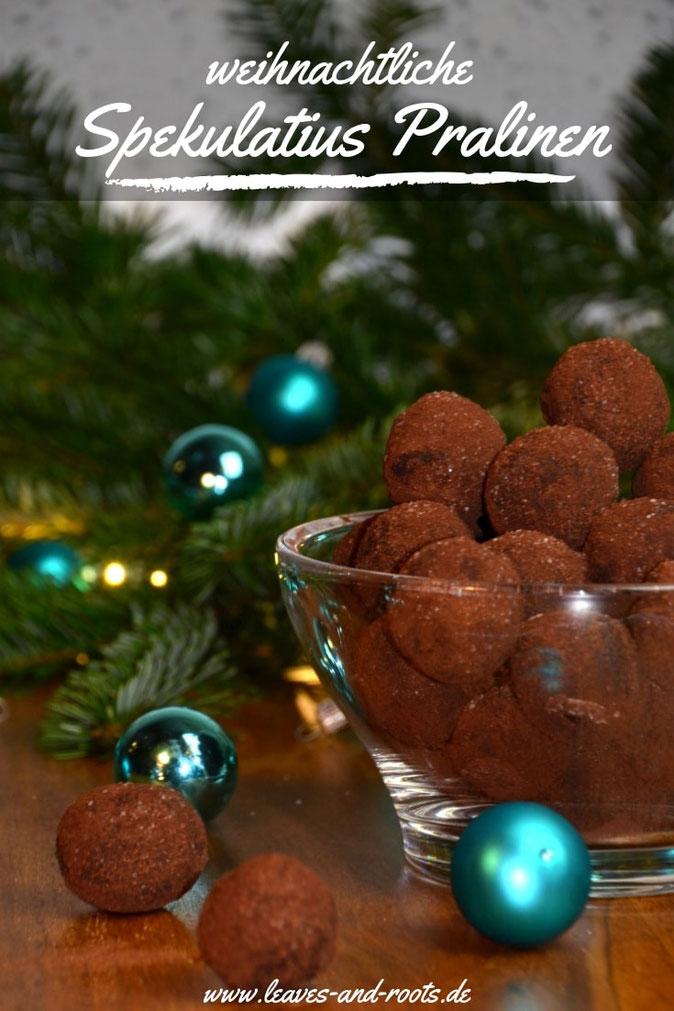 selbstgemachte Weihnachtspralinen
