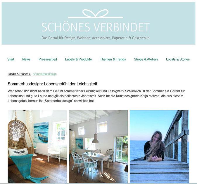 Sommerhusdesign SCHÖNES VERBINDET