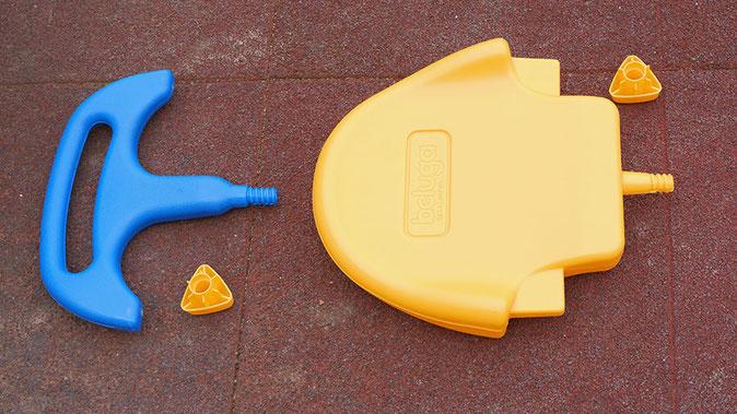 Twipsolino Schaukel 3-in-1 Rückenlehne und Sicherheitsbügel
