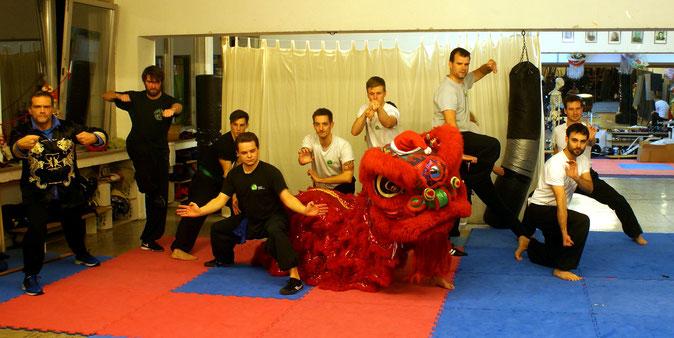 Demoteam der Jing Wu Kung Fu Schule Köln