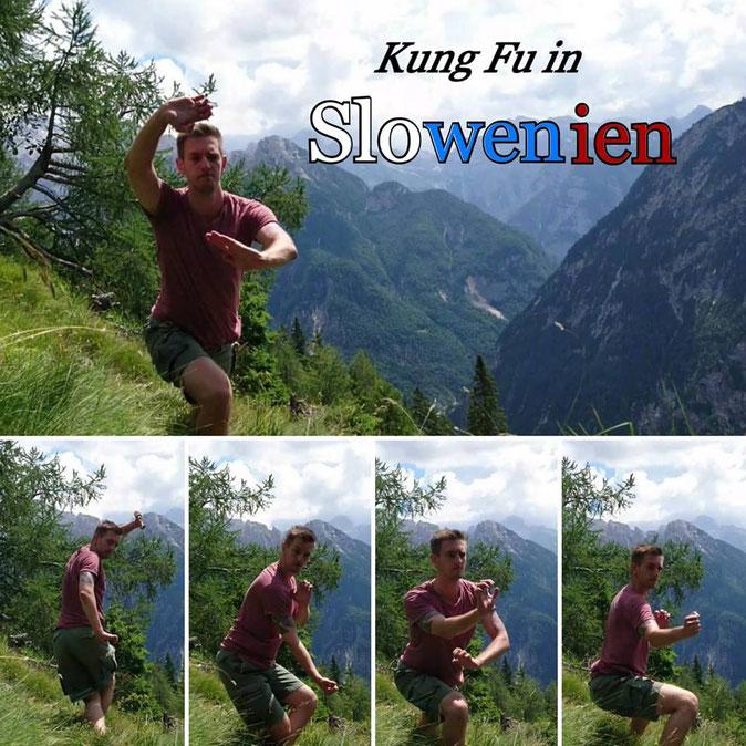 Schüler der Jing Wu Köln in Slowenien