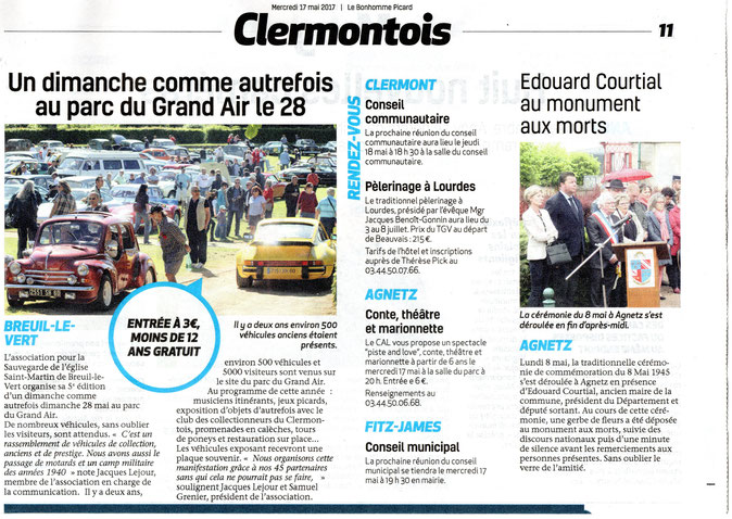 17 mai 2017 - Le Bonhomme Picard
