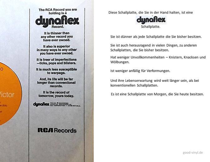 dynaflex von RCA