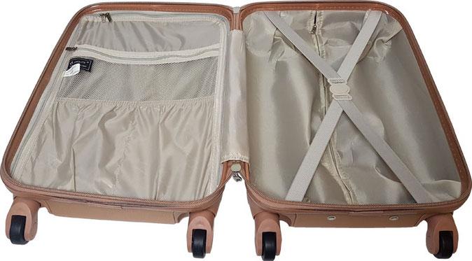 Aerolite Reisekoffer Innen, aerolite handgepäck-trolley, aerolite koffer handgepäck