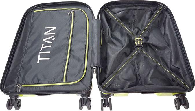 Trolley Titan X2 innen