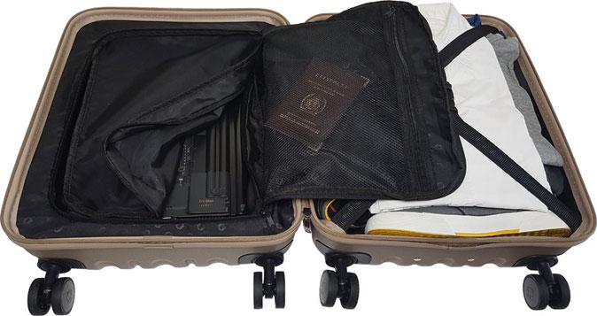Hauptstadtkoffer Hartschalenkoffer mit Laptopfach