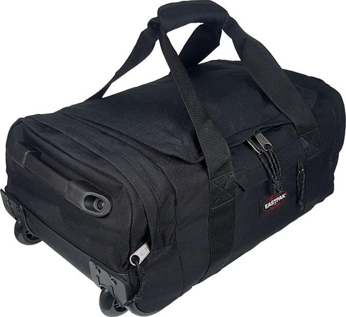 Eastpak Leatherface S ... kleine Reisetasche mit Rollen für Damen und Herren