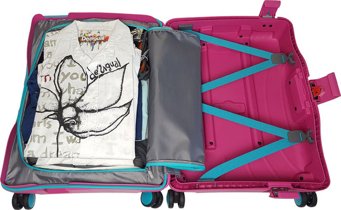 American Tourister Trolley pink