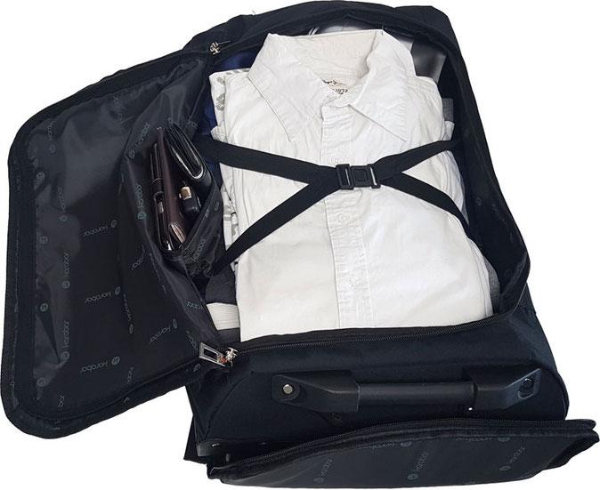 Reiserucksack-Trolley, Trolley mit Rucksackfunktion
