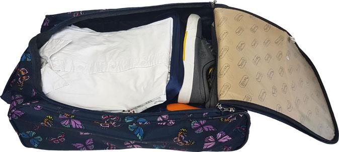 5Cities Cabin Bag gefüllt