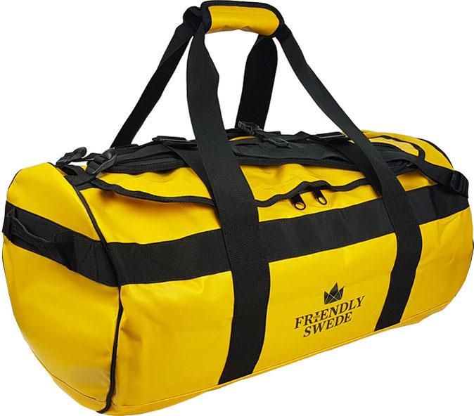 wasserfeste Sporttasche bzw Reisetasche: sie eignet sich perfekt als Outdoor-Reisetasche zB als Segeltasche, Motorradtasche oder Wandertasche