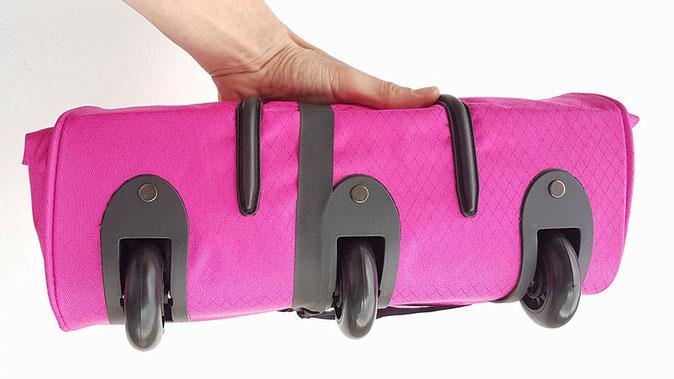Faltbare Reisetasche mit Rollen, Reisetasche mit Rollen faltbar, Reisetasche faltbar mit Rollen
