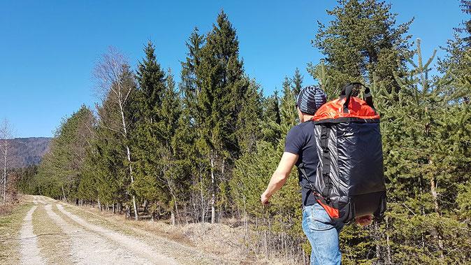 Outdoor Reisetasche mit Rollen, Eagle Creek Cargo Hauler Test, Eagle Creek Test