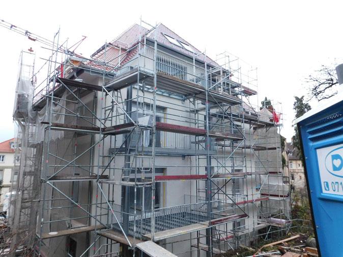 Bauleitung Stuttgart Sanierung - Renovierung Altbau 2018 - 2019