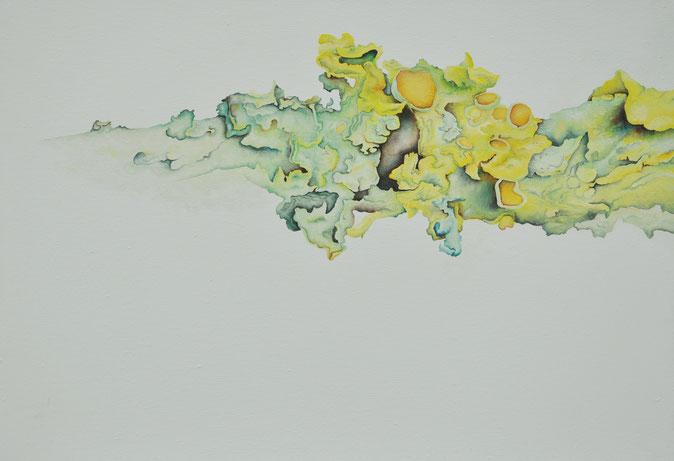 o.T., 35x50cm, Öl auf Leinwand, 2017