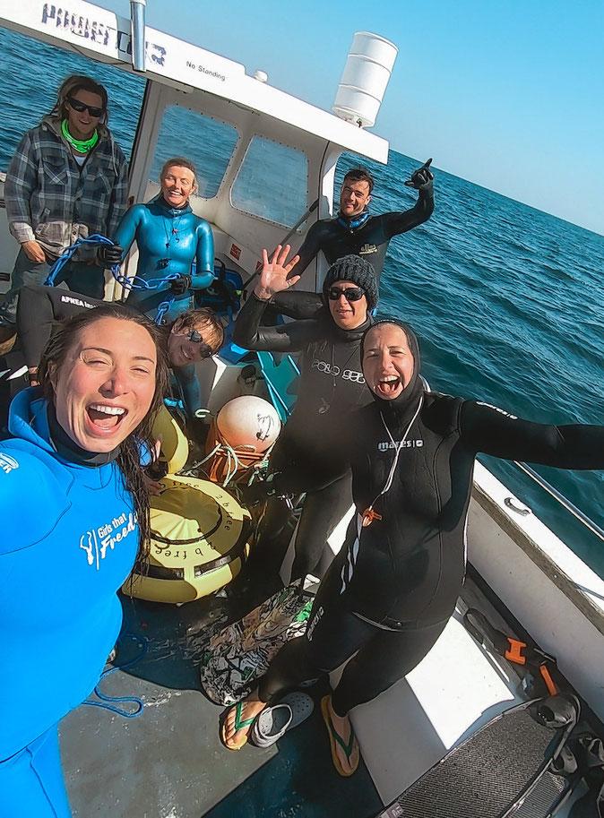 freediving in uk