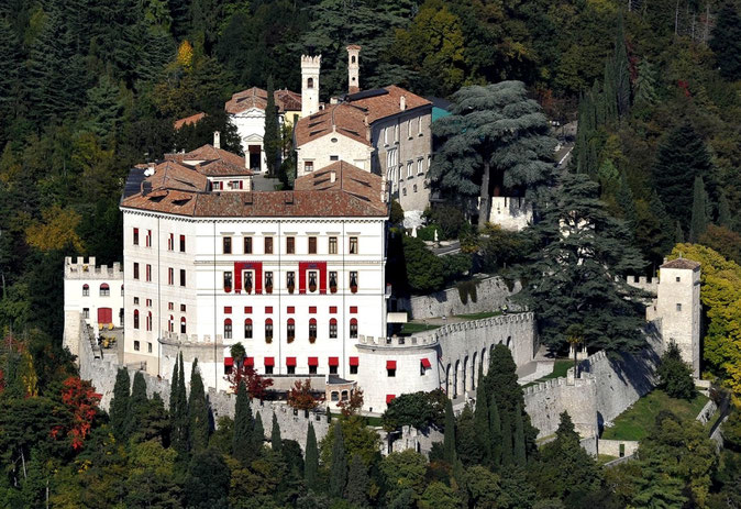 Castello di Castelbrando. Cison di Valmarino (TV).