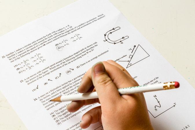 Bewertung von Prüfungen